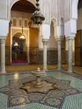 Mausoleum of Moulay Ismail, Meknes, UNESCO World Heritage Site, Morocco, North Africa, Africa Photographic Print by Marco Cristofori