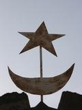 Muslim Symbols, Bamako, Mali, West Africa, Africa Photographic Print