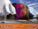Experience Music Project at the Seattle Center, Seattle, Washington State, USA Photographic Print