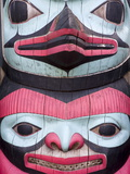 Totem Pole at Icy Strait Point Cultural Center, Hoonah City, Chichagof Island, Alaska, USA Photographic Print