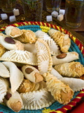 Moroccan Biscuits and Mint Tea, Morocco, North Africa, Africa Photographic Print
