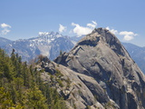 Moro Rock and the High Mountains of the Sierra Nevada, Sequoia National Park, California, USA Photographic Print by Neale Clarke