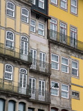 Apartments on Cais Da Estiva, Porto, Portugal, Europe Photographic Print