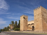 Old Town Gate and Fortified Walls, Alcudia, Majorca, Balearic Islands, Spain, Europe Photographic Print