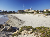 Bathers Beach and Round House, Fremantle, Western Australia, Australia, Pacific Photographic Print by Ian Trower