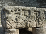 Altar Q, West Court, Copan Archaeological Park, Copan, UNESCO World Heritage Site, Honduras Photographic Print
