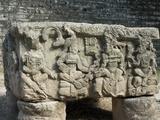 Altar Q, West Court, Copan Archaeological Park, Copan, UNESCO World Heritage Site, Honduras Photographic Print
