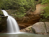 Lower Falls, Hocking Hills State Park, Ohio, United States of America, North America Photographic Print