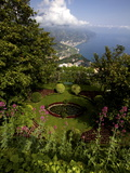 The Gardens of the Villa Cimbrone in Ravello, Amalfi Coast, Campania, Italy, Europe Photographic Print by Olivier Goujon