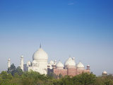 Taj Mahal, UNESCO World Heritage Site, Agra, Uttar Pradesh, India, Asia Photographic Print by Ian Trower