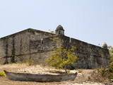 Fort, Old Town, Ibo Island, Mozambique, Africa Fotografisk tryk
