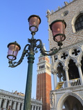 The Campanile and Doge's Palace, St. Mark's Square, Venice, Veneto, Italy Photographic Print by Amanda Hall