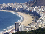 View Over Copacabana, Rio De Janeiro, Brazil, South America Photographic Print by Olivier Goujon
