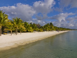 White Sand, Trou Aux Biches Beach, Mauritius, Indian Ocean, Africa Photographic Print