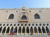 Doge's Palace, St. Mark's Square, Venice, UNESCO World Heritage Site, Veneto, Italy, Europe Photographic Print by Amanda Hall