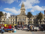 Market Outside City Hall, City Bowl, Cape Town, Western Cape, South Africa, Africa Photographic Print by Ian Trower
