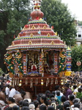Chariot in Festival Procession, London, England, United Kingdom, Europe Photographic Print