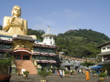 Golden Temple, With 30M High Statue of Buddha, Dambulla, Sri Lanka, Asia Photographic Print