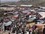 The Market of Lalibela, Amhara Region, Ethiopia, Africa Photographic Print by Angelo Cavalli