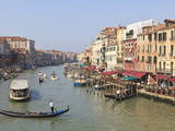 The Grand Canal, Venice, UNESCO World Heritage Site, Veneto, Italy, Europe Photographic Print by Amanda Hall