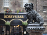 Greyfriars Bobby, Edinburgh, Scotland, Uk Photographic Print by Amanda Hall