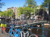 Herengracht, Amsterdam, Netherlands, Europe Photographic Print by Amanda Hall