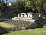 Ball Court, Copan Archaeological Park, Copan, UNESCO World Heritage Site, Honduras, Central America Photographic Print