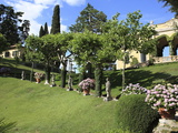 Garden of the Villa Balbianello, Lenno, Lake Como, Lombardy, Italy, Europe Photographic Print