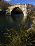 A Ruined Bridge Near Camarassa, Lleida, Lleida Province, Catalonia, Spain, Europe Photographic Print by David Pickford