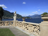 View From Terrace, Lenno, Lake Como, Lombardy, Italy, Europe Photographic Print by Vincenzo Lombardo