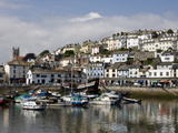 Brixham Harbour, South Devon, England, Uk Photographic Print by Roy Rainford