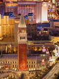 Las Vegas Strip Skyline, Las Vegas, Nevada, United States of America, North America Photographic Print