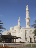 Jumeirah Mosque, Dubai, United Arab Emirates, Middle East Photographic Print by Angelo Cavalli