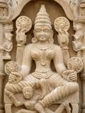 Pashtunath Jain Temple Sculpture, Haridwar, Uttarakhand, India, Asia Photographic Print