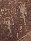 Petroglyphs, Petrified Forest National Park, Arizona, United States of America, North America Photographic Print by James Hager