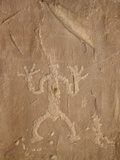 Petroglyph Near Chetro Ketl, Chaco Culture National Historical Park, New Mexico, USA Photographic Print by James Hager