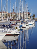 Argeles Port, Argeles Sur Mer, Cote Vermeille, Languedoc Roussillon, France, Europe Photographic Print by Mark Mawson