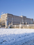 Buckingham Palace in Winter, London, England, United Kingdom, Europe Photographic Print
