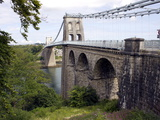 Menai Bridge, Anglesey, North Wales, Wales, United Kingdom, Europe Photographic Print by Raj Kamal