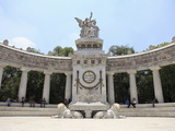 Hemiciclo a Juarez, Benito Juarez Monument, Almeda, Historic District, Mexico City, Mexico Photographic Print by Wendy Connett