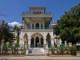 Beachvilla Casa Del Ecuador, Cienfuegos, Cuba, West Indies, Caribbean, Central America Photographic Print
