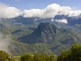 View Over the Cirque De La Salazie, La Reunion, Indian Ocean, Africa Photographic Print