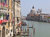 The Grand Canal and the Domed Santa Maria Della Salute, Venice, Veneto, Italy Photographic Print