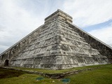 Kukulkan Pyramid, Mesoamerican Step Pyramid Nicknamed El Castillo, Chichen Itza, Yucatan, Mexico Photographic Print by Balan Madhavan