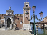 The Porta Magna, Arsenal, Venice, UNESCO World Heritage Site, Veneto, Italy, Europe Photographic Print by Amanda Hall