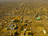 Aerial View of Khartoum, Sudan, Africa Photographic Print