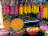 Flower Shop, Chalai, Trivandrum, Kerala, India, Asia Photographic Print