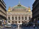 Opera Garnier Building, Paris, France, Europe Photographic Print by Marco Cristofori