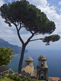 View From Villa Rufolo Gardens, Ravello, Amalfi, Campania, Italy, Europe Photographic Print