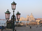 Riva Degli Schiavoni and Santa Maria Della Salute, Venice, Veneto, Italy Photographic Print by Amanda Hall